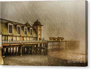 Penarth Pier Canvas Print by Steve Purnell