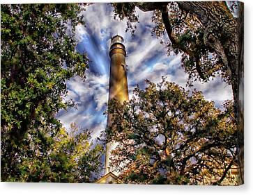 Pensacola Lighthouse Canvas Print by Anthony Dezenzio