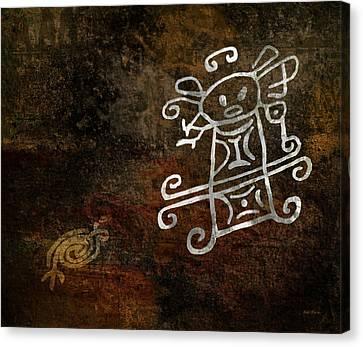 Petroglyph 1 Canvas Print