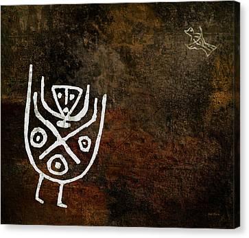 Petroglyph 4 Canvas Print