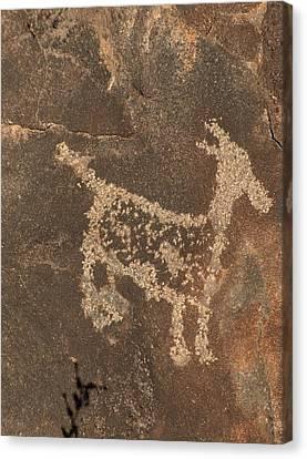 Petroglyph Series 3 Canvas Print