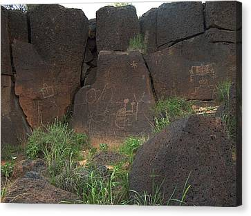 Petroglyph Series 4 Canvas Print