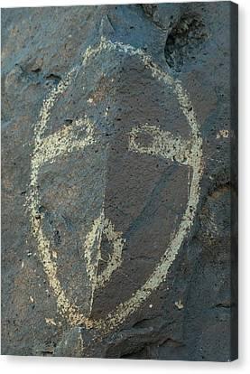 Petroglyph Series 5 Canvas Print