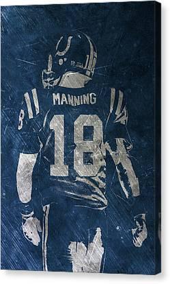 Peyton Manning Colts 2 Canvas Print