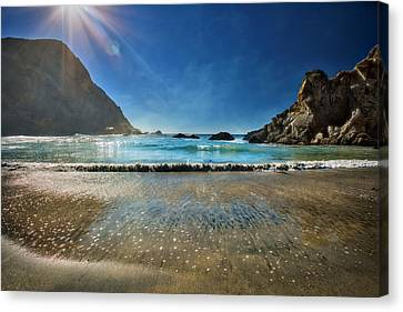 Pheiffer Beach #6 - Big Sur California Canvas Print by Jennifer Rondinelli Reilly - Fine Art Photography