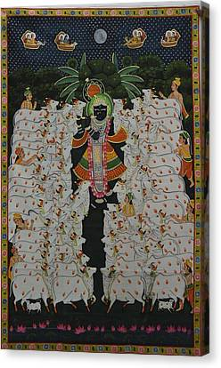 Pichwai 9 Canvas Print