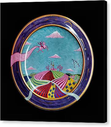 Pink Horse. Canvas Print by Vladimir Shipelyov