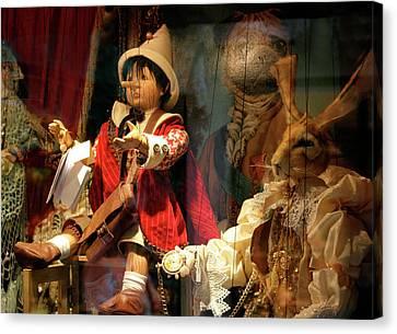 Pinocchio In Venice Canvas Print