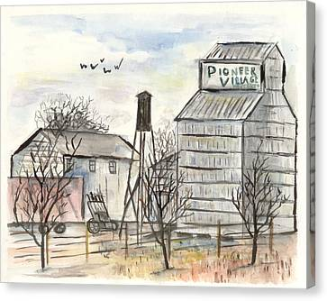 Pioneer Village Canvas Print