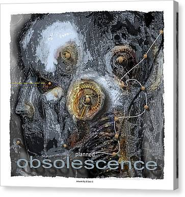 Planned Obsolescence Canvas Print by Bob Salo
