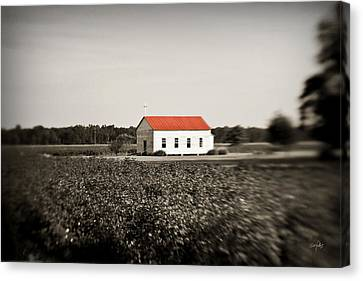 Plantation Church Canvas Print by Scott Pellegrin
