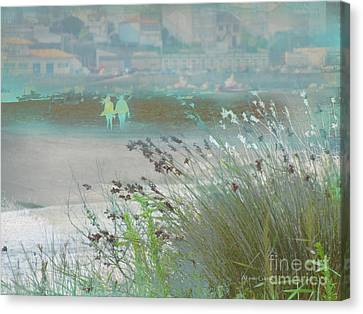 Canvas Print featuring the photograph Playa by Alfonso Garcia