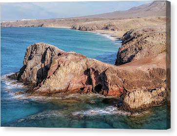 Lanzarote Canvas Print - Playa Papagayo - Lanzarote by Joana Kruse