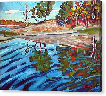 Oil Canvas Print - Point Paradise by Phil Chadwick