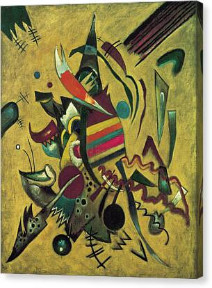 Points  Canvas Print by Wassily Kandinsky