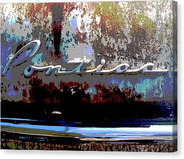 Pontiac Canvas Print by Audrey Venute