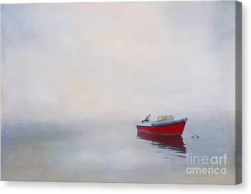 Pop Of Red Canvas Print by Jayne Carney