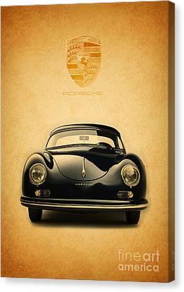Porsche 356 Canvas Print by Mohamed Elkhamisy
