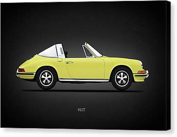 Porsche 911 Targa Canvas Print by Mark Rogan