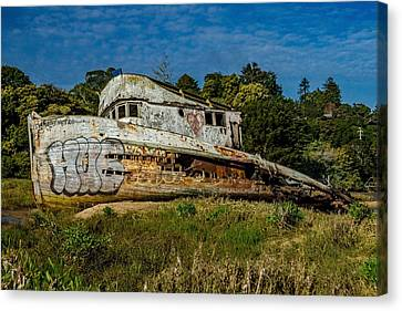 Canvas Print - Port Side Of The Pt Reyes by Bill Gallagher