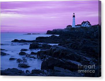 Portland Head Lighthouse Canvas Print by Brian Jannsen