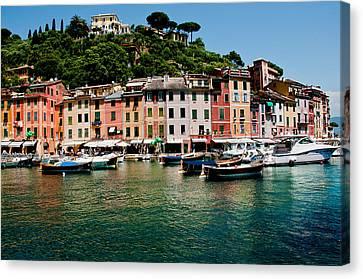 Portofino Italy Canvas Print by Xavier Cardell