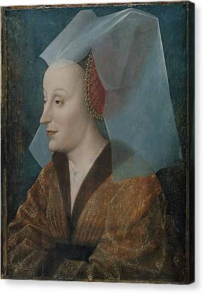 Portrait Of A Noblewoman Canvas Print