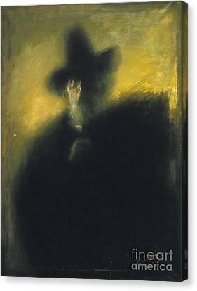Portrait Of Manuel Dalmau Oliveres Canvas Print