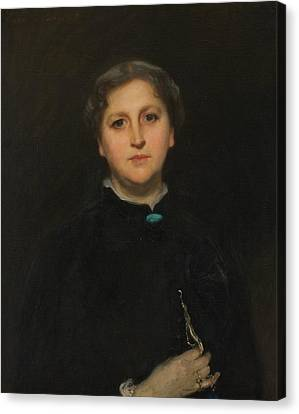 Portrait Of Mrs Raphael Pumpelly Canvas Print by John Singer Sargent