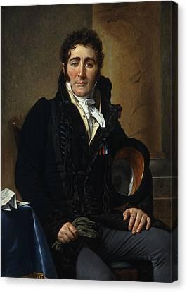 Portrait Of The Comte De Turenne Canvas Print