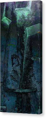 Canvas Print featuring the digital art Poseidon by Ken Walker