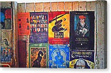 Poster Board Canvas Print by Cyryn Fyrcyd
