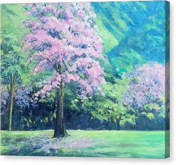 Poui Festival  Canvas Print by Judy Joseph-mungal
