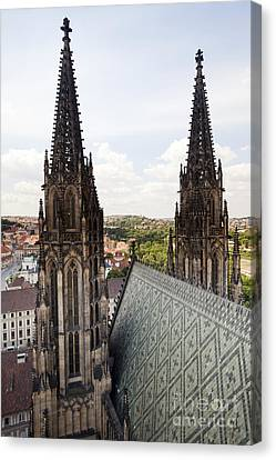 Prague Cathedral Canvas Print