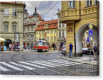 Prague Canvas Print by Juli Scalzi