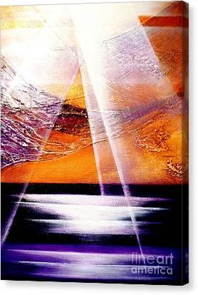 Pray Canvas Print by Kumiko Mayer