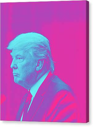 President Donald Trump Canvas Print by Celestial Images