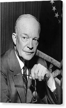 President Dwight D. Eisenhower Canvas Print