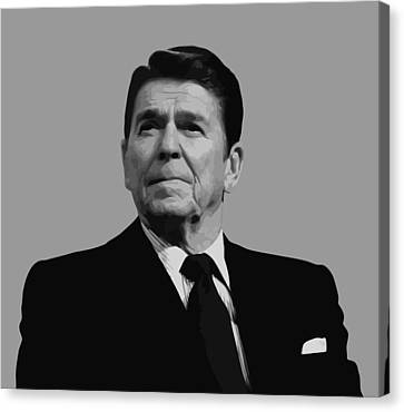 President Reagan Canvas Print by War Is Hell Store