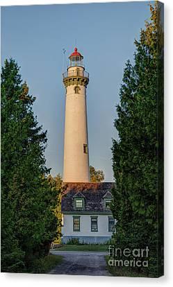 Presque Isle Lighthouse Canvas Print by Patrick Shupert