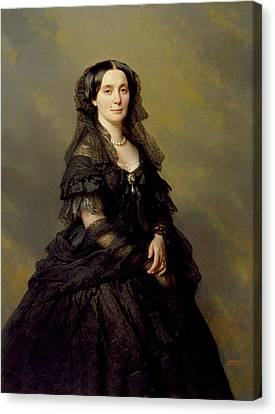 Princess Kotschoubey Canvas Print by Franz Xaver Winterhalter