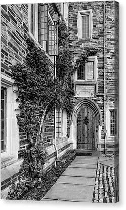 Princeton University Foulke Hall II Canvas Print by Susan Candelario