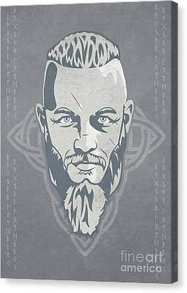 Ragnar Lothbrok Vikings Canvas Print