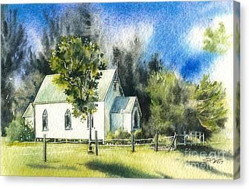 Promised Land Church Canvas Print