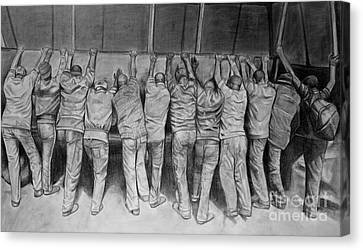 Protest Canvas Print by Curtis James