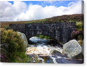 Ps I Love You Bridge In Ireland Canvas Print by Semmick Photo
