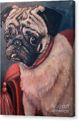 Pugsy Canvas Print by Enzie Shahmiri