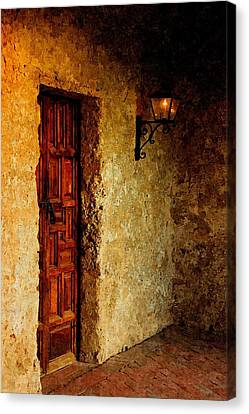 Quaint Corner In Oil Canvas Print