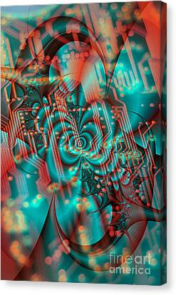 Quantum Computing  Canvas Print by Tony Craddock