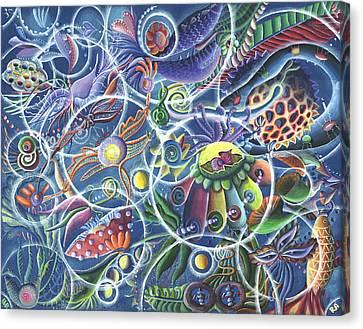 Quantum Entanglement Canvas Print by Vera Tour